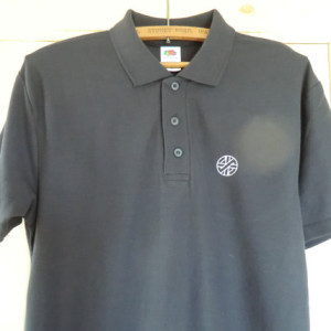 Embroidered Crass Polo Shirt 3
