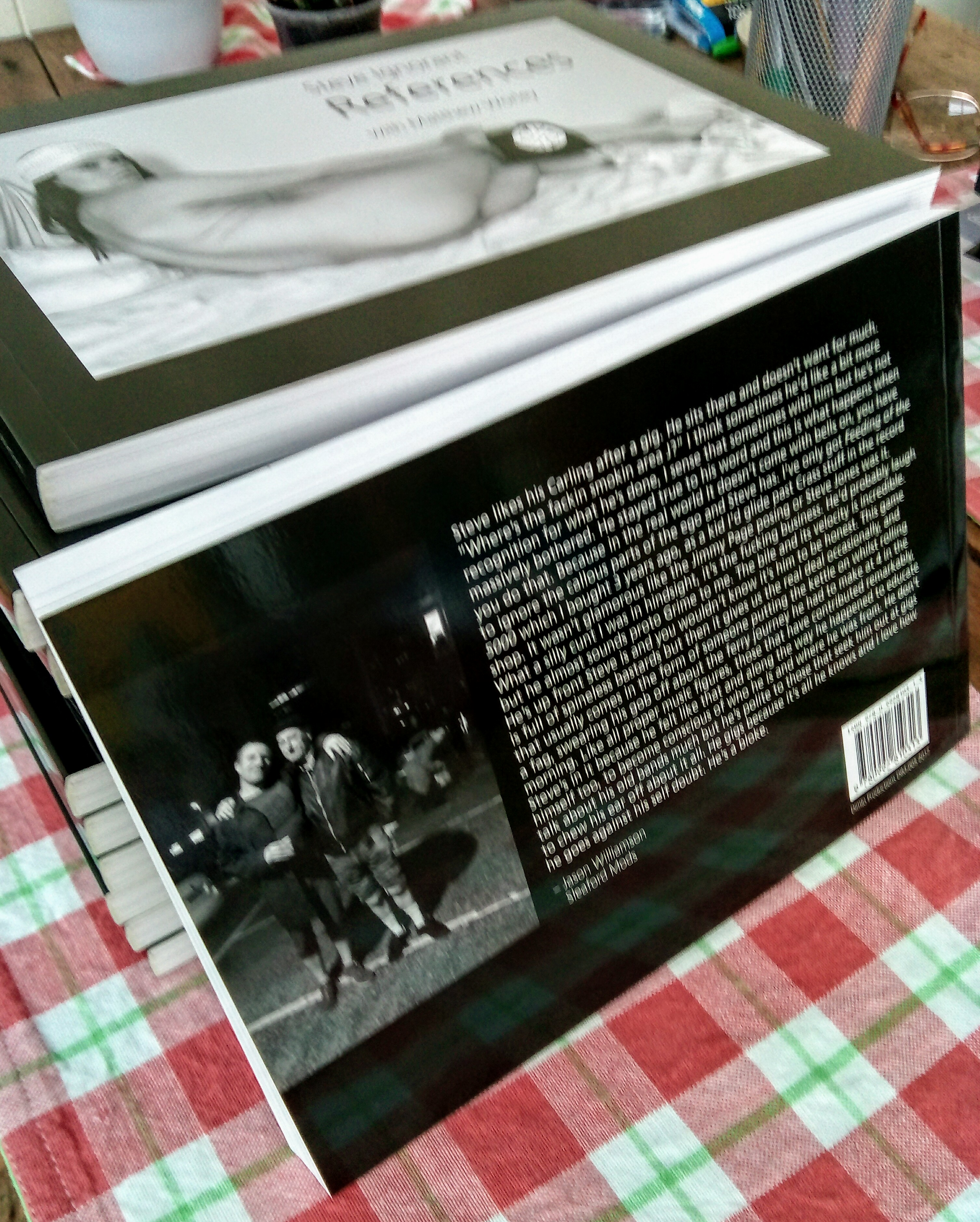 References - Lyrics & Stories by Steve Ignorant with Matthew Worley